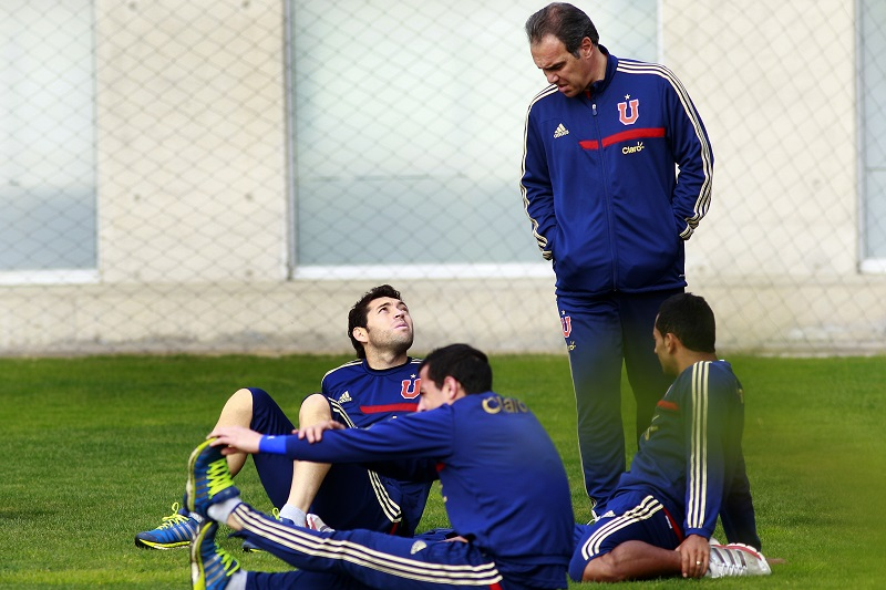 Entrenamiento Universidad de Chile