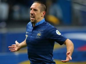Ribéry se despidó de la selección de Francia con 31 años.