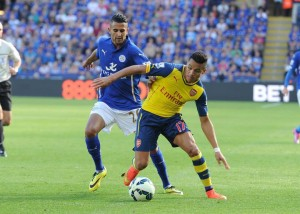Alexis logró brillar con luz propia en la victoria como visita de Arsenal 2-1, pese a que no anotó.
