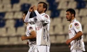 """El """"Paco"""" Ibáñez le dio su segundo triunfo a Barnechea en Primera División."""