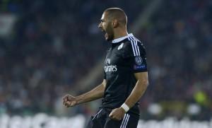Karim Benzema logró darle el triunfo al Real Madrid.