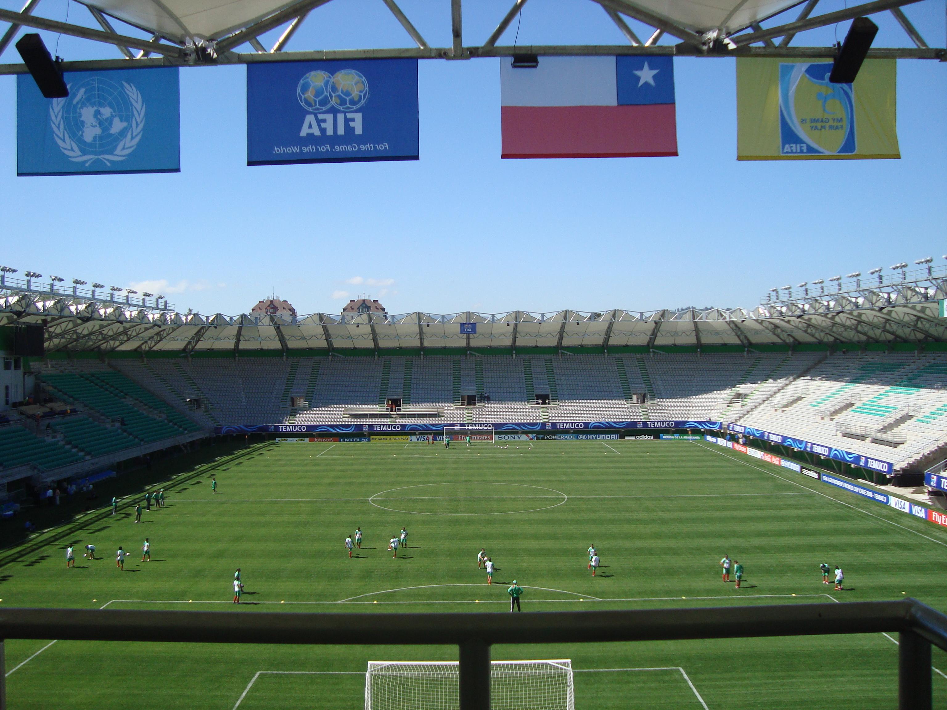 El estadio Germán Becker estará cerrado hasta marzo del próximo año.