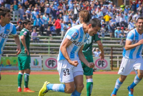 Magallanes goleó 5-1 a Temuco.
