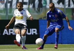 """Emiliano Vecchio dijo que Colo Colo le dio una exhibición de fútbol a la """"U""""."""