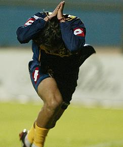 Éverton fue el club donde comenzó a ganar titularidad en Primera División.
