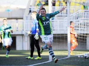 Gutiérrez nuevamente le dio la victoria a Wanderers.