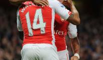 Alexis anotó doblete en el triunfo por tres a cero de Arsenal sobre el Burnley.