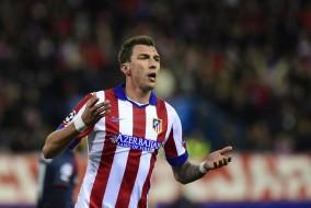 Mandzukic anotó hattrick en victoria del Atlético Madrid.
