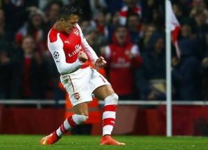 Alexis es el goleador del Arsenal en la temporada.