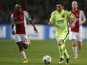 Lionel Messi es junto a Raúl el goleador máximo de la Champions League.