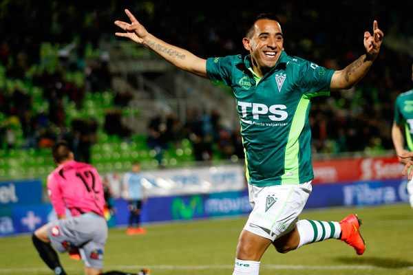 """Jorge Luna llegó para ser el """"10"""" de Wanderers y no ha decepcionado."""