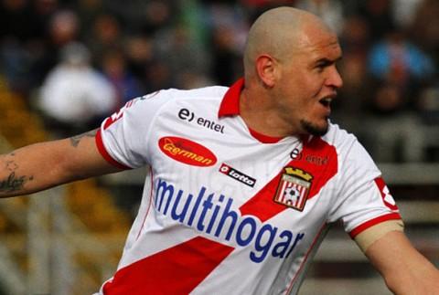 """El """"Ogro"""" lleva ocho tantos y es el actual goleador de la Primera B."""