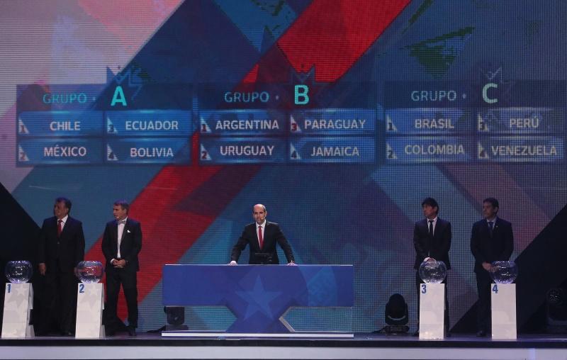 Chile ya tiene los rivales en Copa América: México, Ecuador y Bolivia.