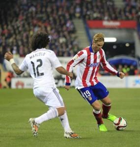 Fernando Torres marcó sus primeros goles, en su vuelta al Atleti.