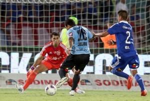 Cristian Bogado anotó el 2-2 que le dio vida a Iquique en el partido.