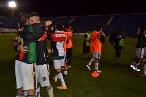 Palestino vencio por 1-0 al elenco de Zamora en Venezuela.