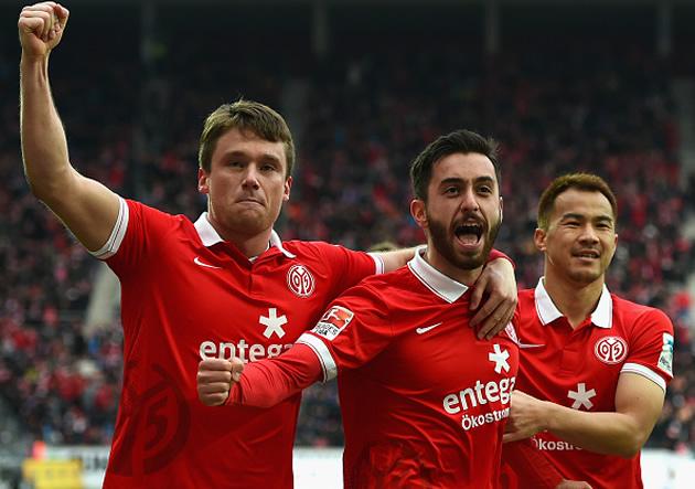 El Mainz se aleja de los puestos de descenso en la Bundesliga.
