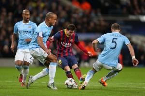 Mañana en el Ethiad Estadium se enfrentan el Manchester City y el Barcelona por la ida de los octavos de final de la Liga de Campeones. Foto: sifutbol.com