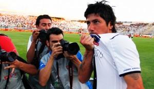 Jaime Valdés fue la gran figura de Colo Colo, en el empate con Palestino.