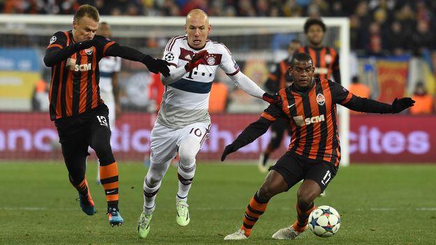 Shakhtar Donetsk - Bayern Múnich