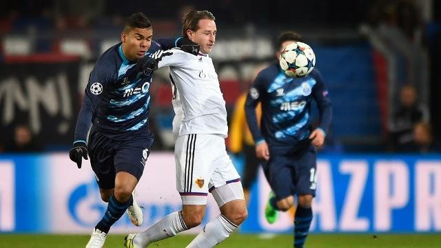 Buen empate para el Porto en Basilea, anotando un gol como visitante