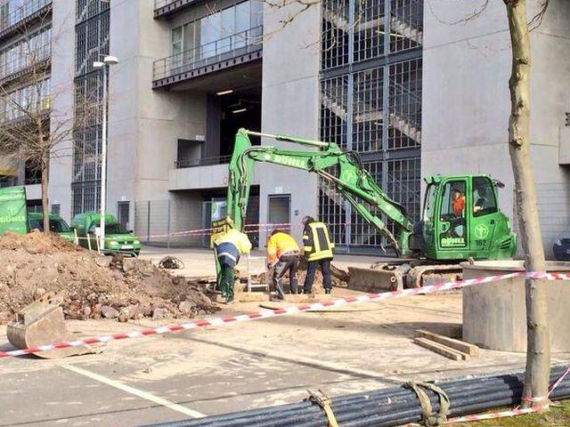 Se encontró bomba de la segunda guerra mundial en el estadio del Borussia Dortmund.