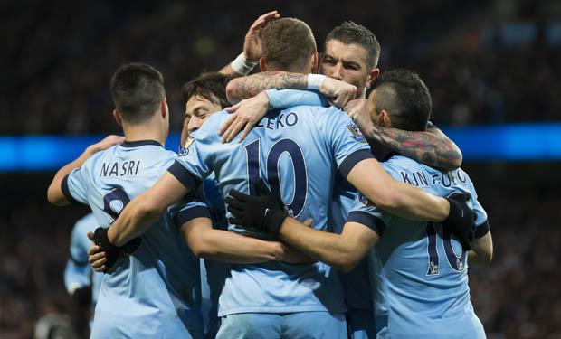 Manchester City goleó por 5-0 al Newcastle.