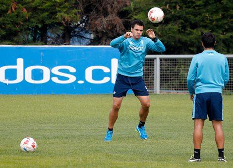 Christopher Toselli quiere recuperarse bien de la rodilla antes de volver a jugar. Foto: Agencia Uno