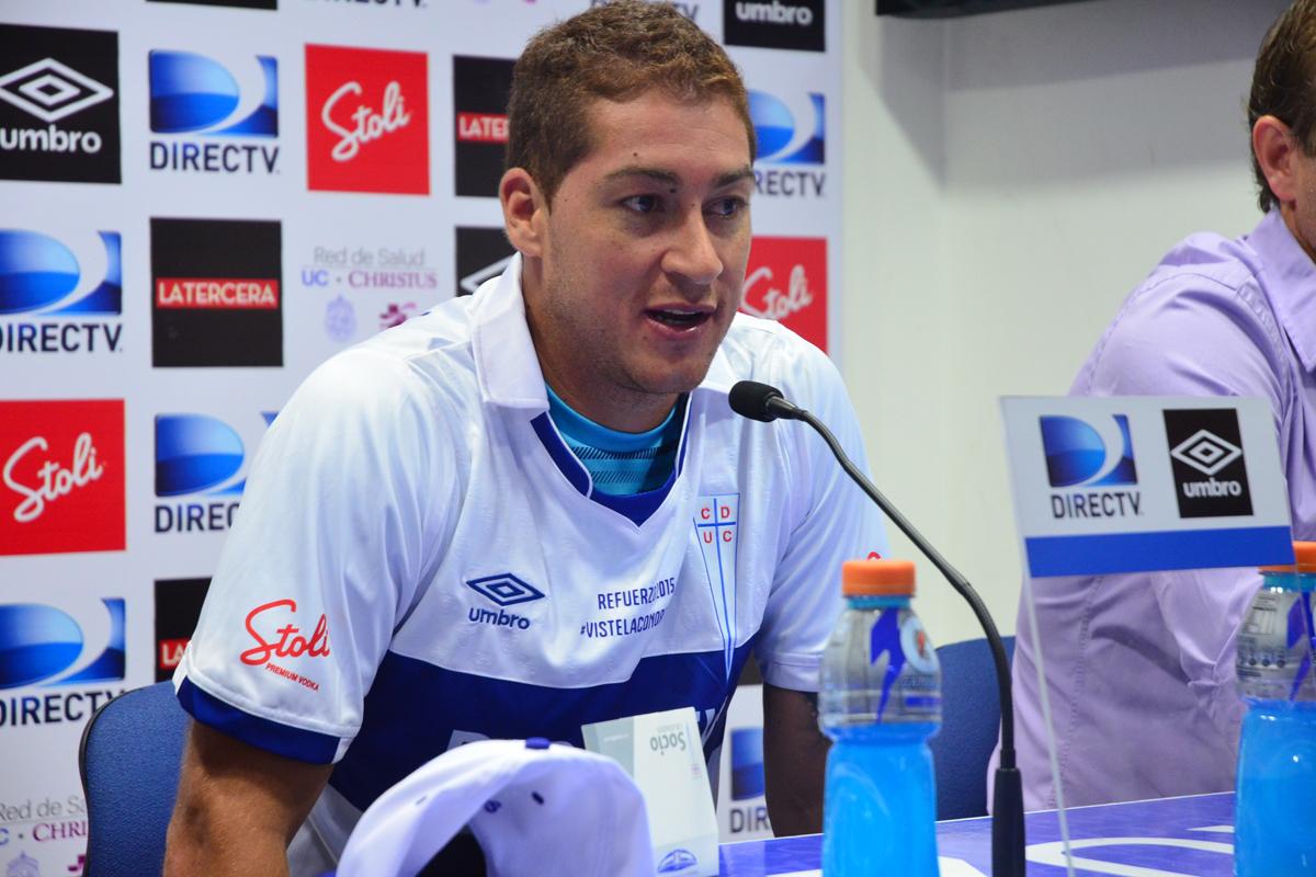 El defensor uruguayo habló con los medios de comunicación sobre la importancia del partido con Barnechea.