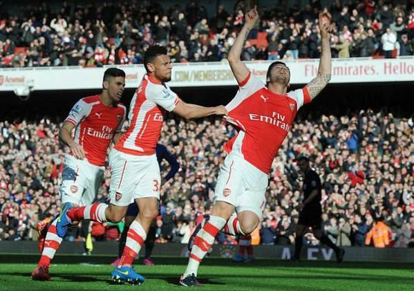 Arsenal derrotó a Everton con Alexis Sánchez como titular.