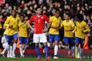 Los dirigidos por Jorge Sampaoli cayeron 1 a 0 frente a la canarinha con gol de Firmino.