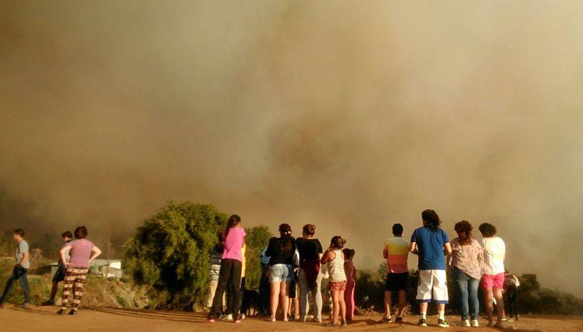 VALPARAISO : Incendio Forestal