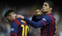 Messi se matriculó con un hat-trick, mientras que Suárez aportó con dos goles en la victoria 6-1 ante el Rayo Vallecano.