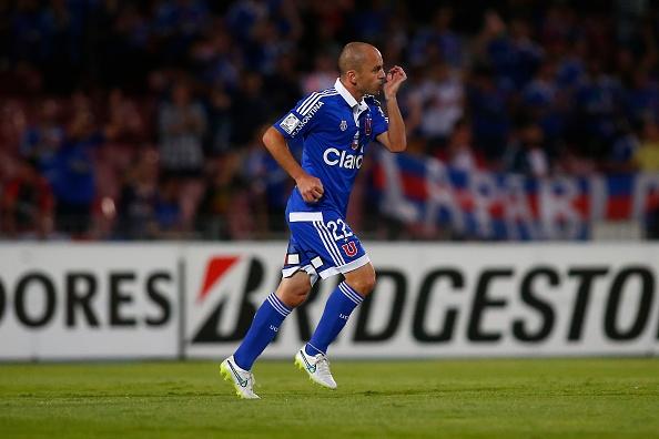 "Lorenzetti convirtió el gol del empate para la ""U""."