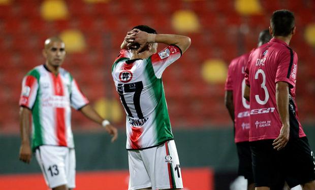 Palestino empató 1-1 con Montevideo Wanderers.