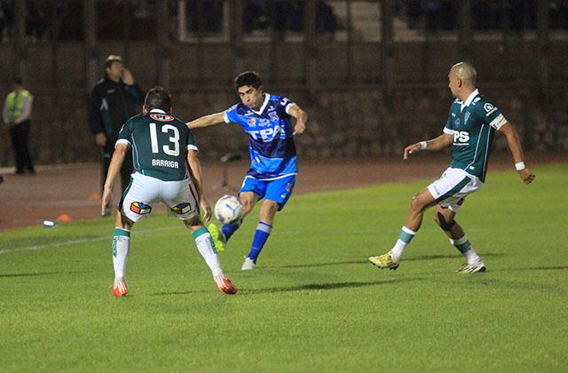 San Marcos de Arica igualó 3-3 con Santiago Wanderers.