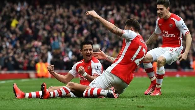 Arsenal alexis gol