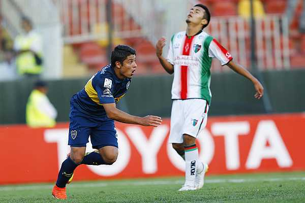 Palestino intentará dejar atrás el robo sufrido y conseguir la hazaña ante los xeneizes. Foto: extrafutbol.com
