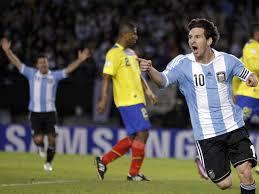 A pesar de la ausencia de Messi, Argentina tuvo un buen desempeño frente a los tricolores. Foto: centraldenoticiasvenezuela.blogspot.com
