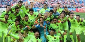 El capitán de la selección chilena logró su consagración en el fútbol española luego de una gran temporada en el Barcelona. Foto: latercera.com