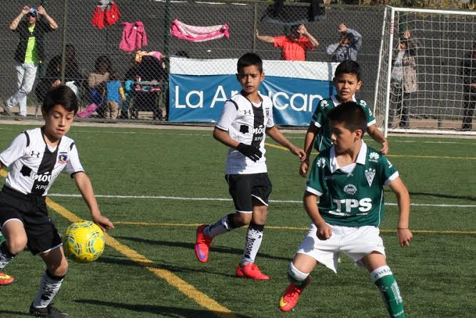 colo colo wanderers infantil