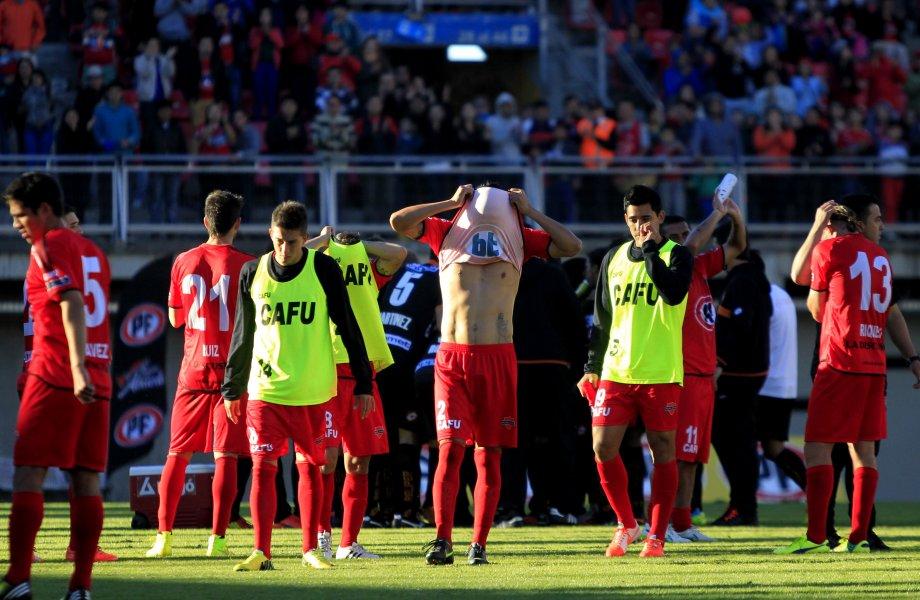 Los dirigidos por Fernando Diaz estaban a la espera de la derrota de San Marcos o de Antofagasta. Ninguna sucedió y no pudieron escapar del descenso.