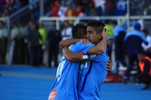 Braulio Leal concretó el empate final entre O`Higgins y Antofagasta.