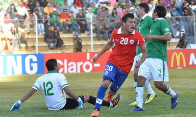 Bolivia vs Chile  aranguiz gol