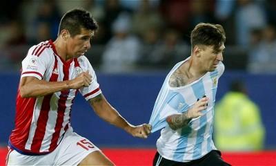 argentina paraguay messi