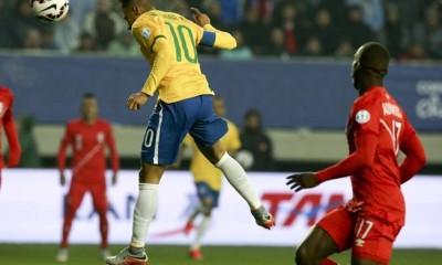 neymar gol brasil peru
