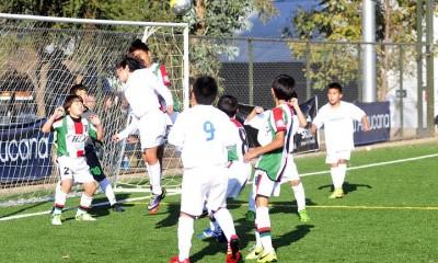 futbol infantil araucana palestino