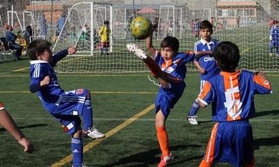 futbol infantil u de chiile
