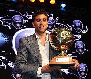 Mauro Olivi ganó el balón de oro que otorga la ANFP.