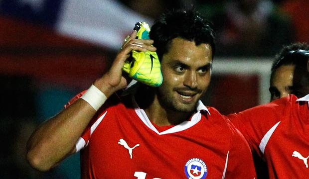 Sebastián Pinto marcó por la Selección chilena.